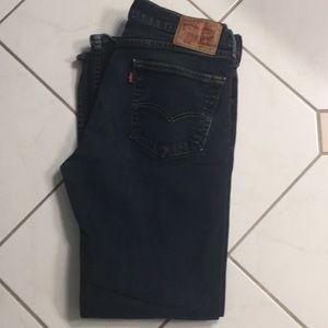 Levi Strauss 505 34/32 blue jeans